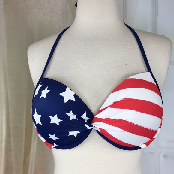 Arizona Jean Company Other - Arizona Jean Co. Stars and Stripes Bikini Top NWOT